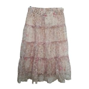 2/$30 👗FANCY Lace Skirt